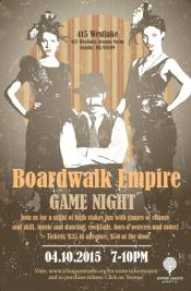 Boardwalk Empire Game Night